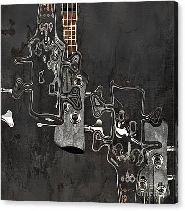 Abstrait En Do Majeur A2 Canvas Print by Aimelle