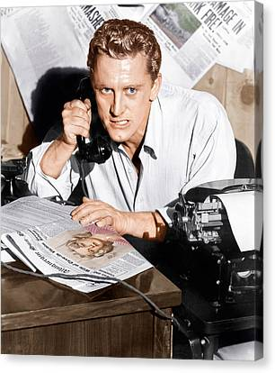 Ace In The Hole, Kirk Douglas, 1951 Canvas Print by Everett