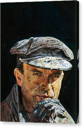 Ace Of Spies  Canvas Print by Michael Haslam
