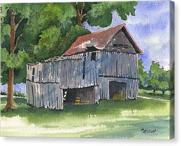 Across From Andies Canvas Print