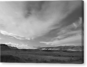 Canvas Print featuring the photograph Across The Valley by Kathleen Grace