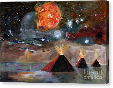 Activation Canvas Print by Ginette Callaway