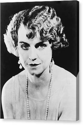 Actress Dorothy King Was A Broadway Canvas Print by Everett