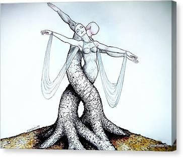Adagio Of Life Canvas Print by Paulo Zerbato