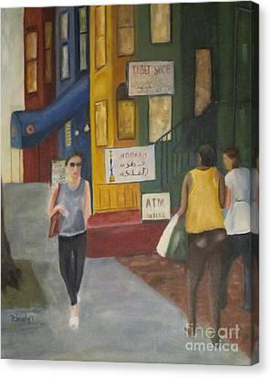 Adams Morgan  Canvas Print