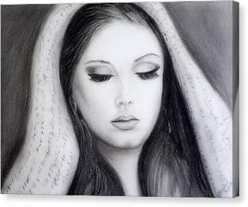 Adele Canvas Print by Gina Cordova
