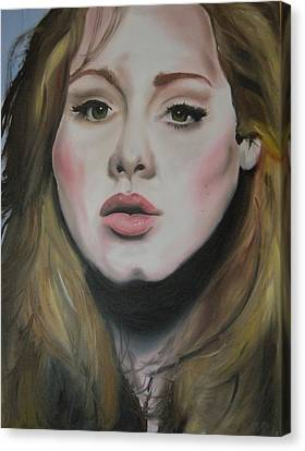Adele Canvas Print by Matt Burke