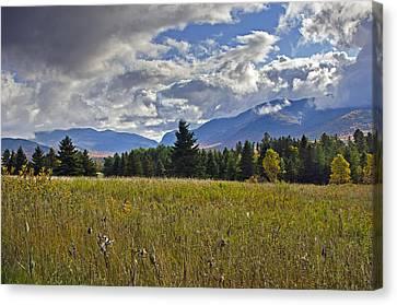 Adirondack High Peaks - New York Hdr Canvas Print