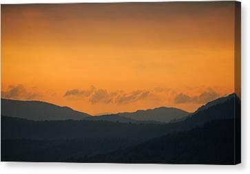 Canvas Print featuring the photograph Adirondacks by Steven Richman