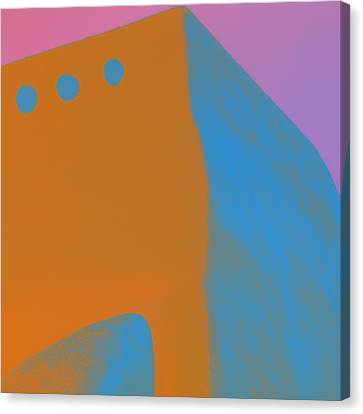 Adobe Walls Number 4 Canvas Print