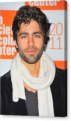 Adrian Grenier At Arrivals For George Canvas Print by Everett