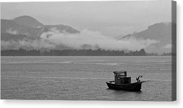 Adrift Canvas Print by Peter Tellone