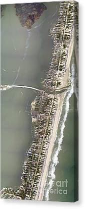 Aerial View Showing A Portion Canvas Print by Stocktrek Images