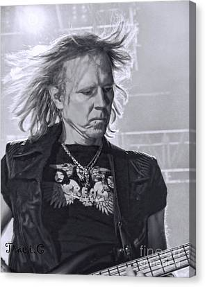 Aerosmith Canvas Print by Traci Cottingham