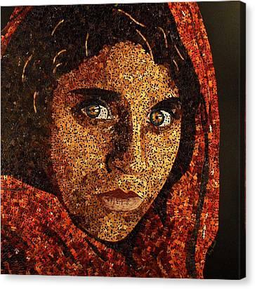 Afghan Girl II Canvas Print
