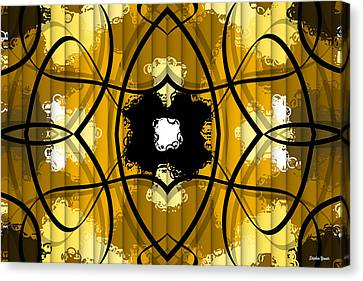 African Abstract Canvas Print