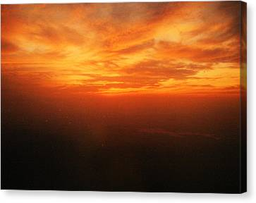 African Sky Canvas Print by Kehinde Thompson