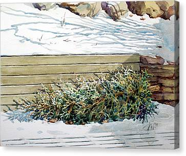 After Christmas Canvas Print by Peter Sit
