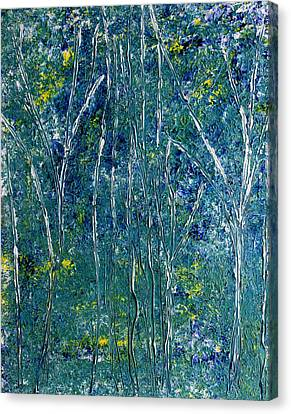 Canvas Print featuring the painting After Monet by Dolores  Deal