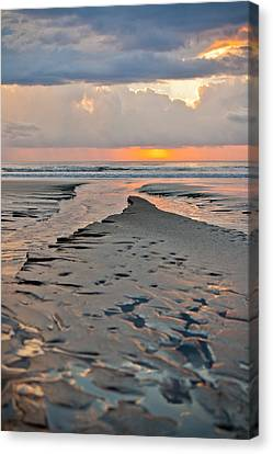 Jaco Canvas Print - After Storm Sunset by Anthony Doudt