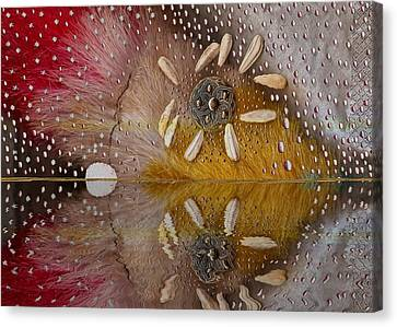 Drop Canvas Print - After The Rain by Pepita Selles