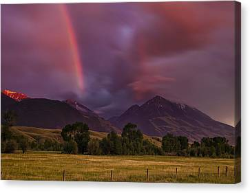 After The Storm Canvas Print by Andrew Soundarajan