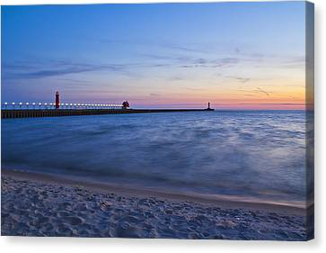 After The Sunset Canvas Print by Joe Gee