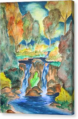 Afternoon Delight Canvas Print by Cheryl Pettigrew