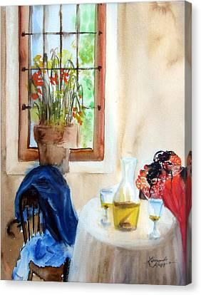 Afternoon Delight Canvas Print by Leonardo Ruggieri