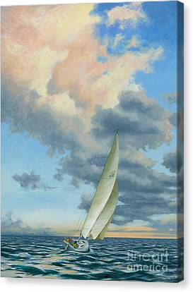 Afternoon Delight Canvas Print by Michael Swanson