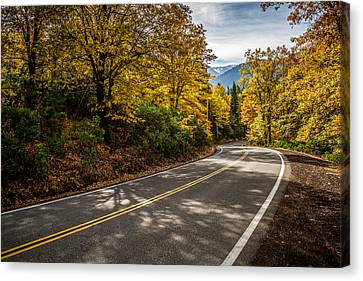 Canvas Print featuring the photograph Afternoon Drive by Randy Wood