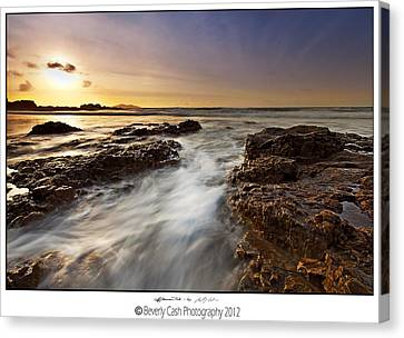 Canvas Print featuring the photograph Afternoon Tide by Beverly Cash