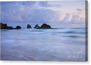 Against The Tides Canvas Print