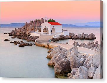 Agios Isidoros Canvas Print by Emmanuel Panagiotakis