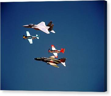 Air Force Heritage Flight Canvas Print