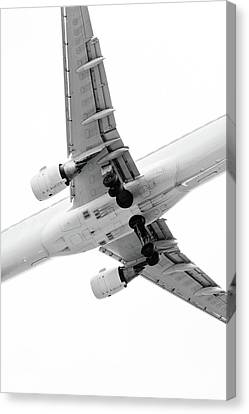 Aircraft Canvas Print by Daniel Kulinski