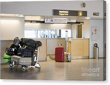 Airport Baggage Area Canvas Print by Jaak Nilson