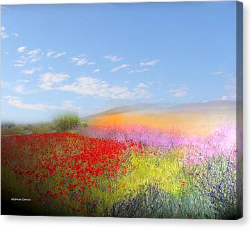 Canvas Print featuring the photograph Ajofrin En Primavera by Alfonso Garcia
