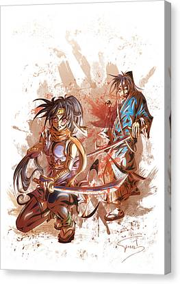 Aku Soku Zan 2 Canvas Print by Tuan HollaBack
