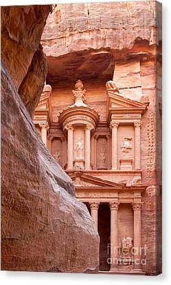 Petra Canvas Print - al-Khazneh by Jane Rix
