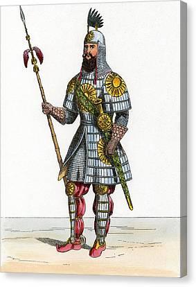 Al-malik Al-adil, Kurdish General Canvas Print by Chris Hellier