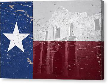 Alamo Wall Art Canvas Print