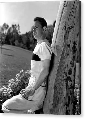 Alan Ladd, 1942 Canvas Print by Everett