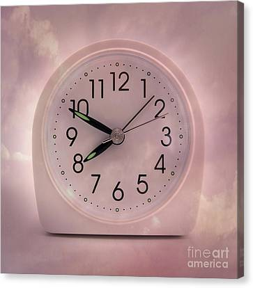 Alarrm Clock Canvas Print by Bernard Jaubert