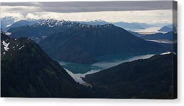 Alaska Coastal Serenity Canvas Print by Mike Reid