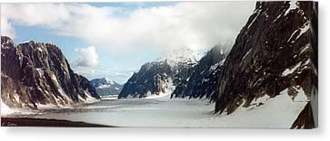 Canvas Print featuring the photograph Alaska Glacier by C Sitton