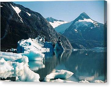Alaska Reflections Canvas Print by Judyann Matthews