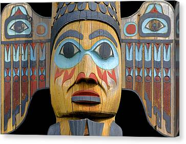 Alaska Totem Canvas Print by Mark Greenberg
