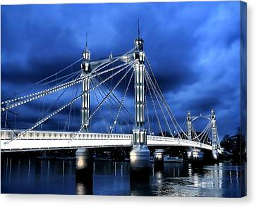 Albert Bridge London Canvas Print