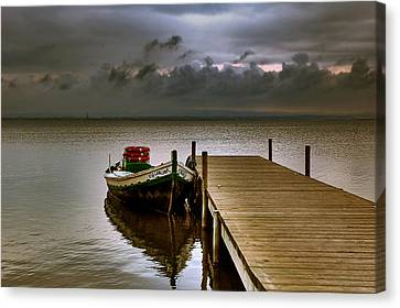 Albufera Before The Rain. Valencia. Spain Canvas Print